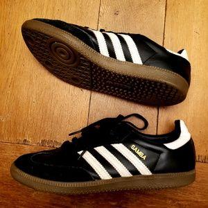 Samba soccer shoes adidas